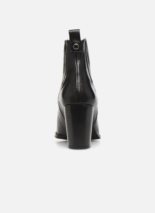 Bottines et boots Georgia Rose Serio Noir vue droite