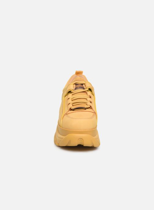 Baskets Buffalo 15330971339 Jaune vue portées chaussures