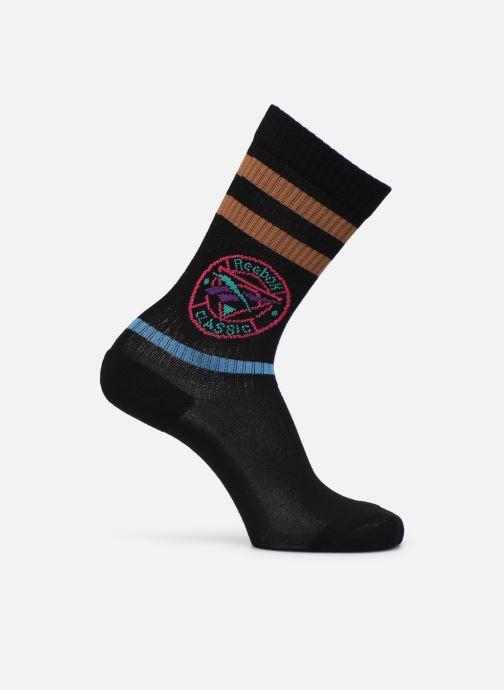 Strømper og tights Reebok CL TRAIL SOCK Sort detaljeret billede af skoene