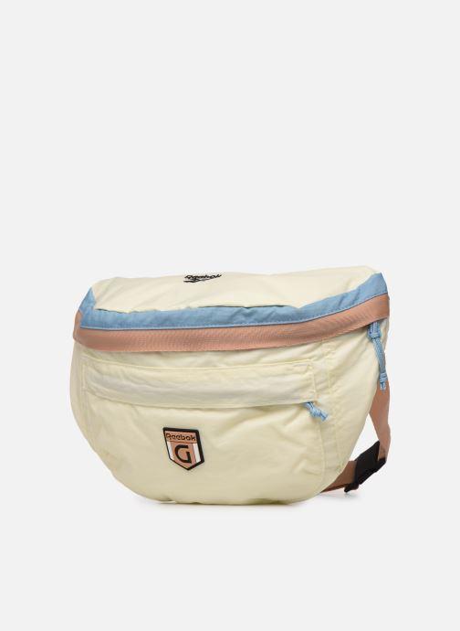 Petite Maroquinerie Reebok CL GIGI HADID BAG Blanc vue portées chaussures