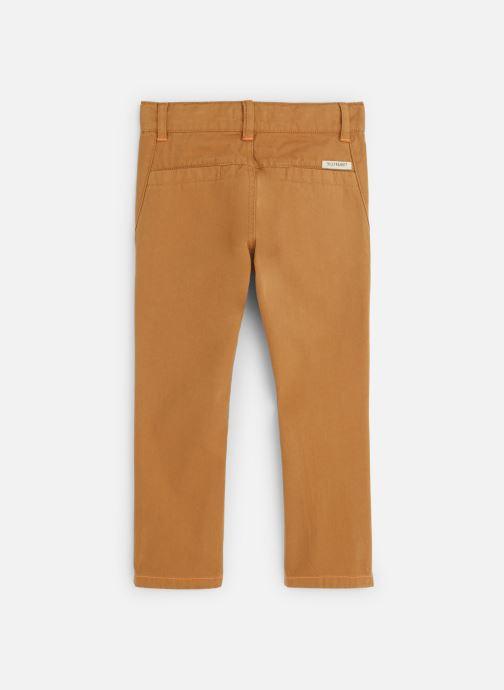 Vêtements Billybandit Pantalon V24231 Marron vue bas / vue portée sac