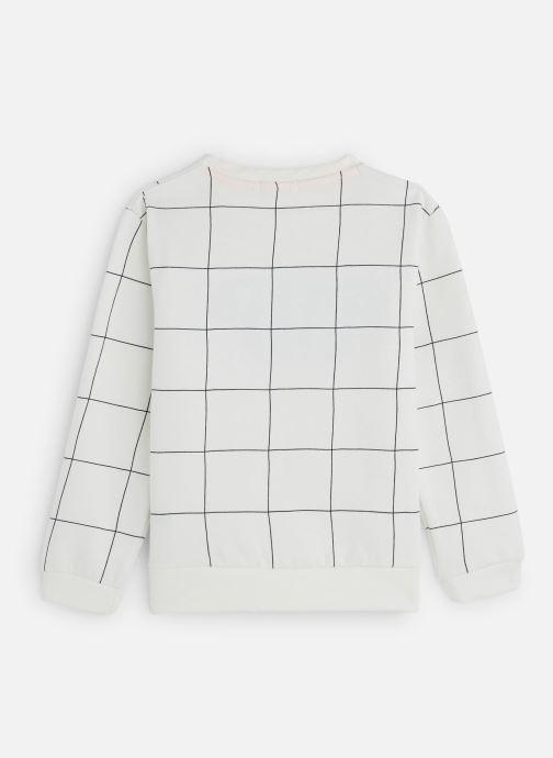 Vêtements Billybandit Sweat V25480 Blanc vue bas / vue portée sac