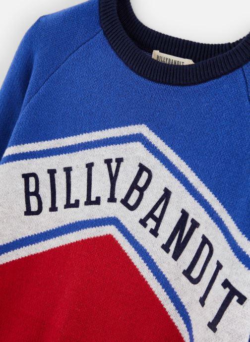 Vêtements Billybandit Sweat V25481 Bleu vue portées chaussures