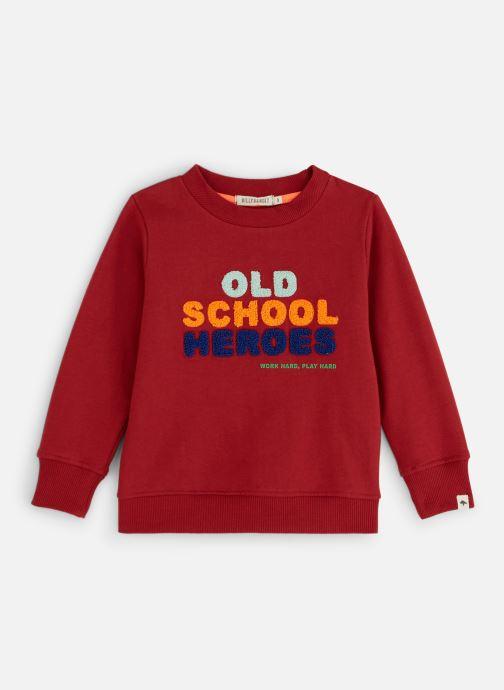 Vêtements Billybandit Sweat V25488 Rouge vue détail/paire
