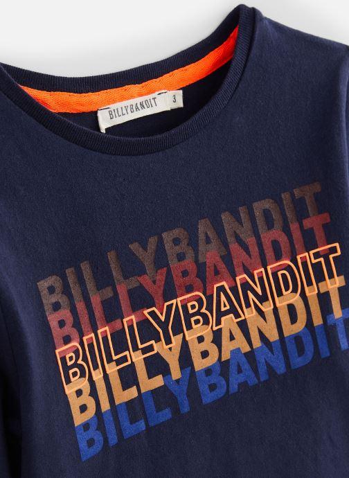 Vêtements Billybandit T-shirt V25507 Bleu vue portées chaussures