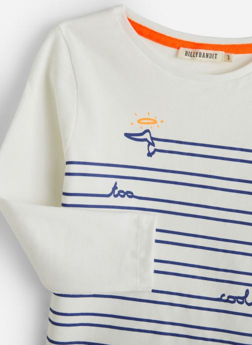 Vêtements Billybandit T-shirt V25511 Blanc vue portées chaussures