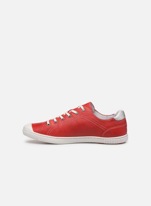 Sneakers Pataugas Baher F2C Rosso immagine frontale