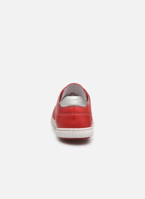 Sneakers Pataugas Baher F2C Rosso immagine destra