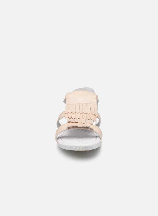 Sandales et nu-pieds Pataugas Candy/V F2C Beige vue portées chaussures