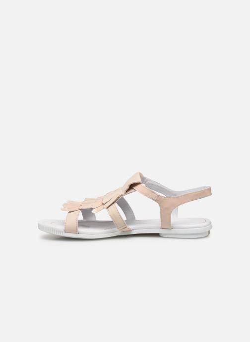 Sandales et nu-pieds Pataugas Candy/V F2C Beige vue face