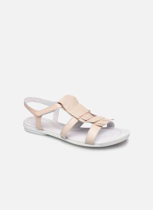 Sandales et nu-pieds Pataugas Candy/V F2C Beige vue détail/paire