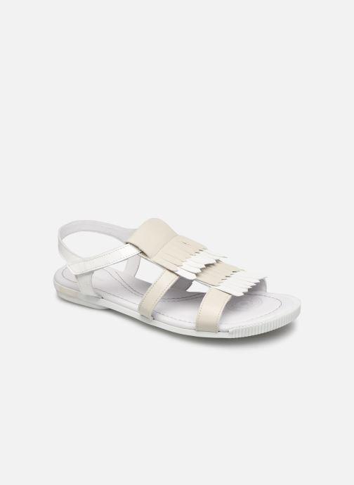 Sandales et nu-pieds Pataugas Candy/V F2C Blanc vue détail/paire