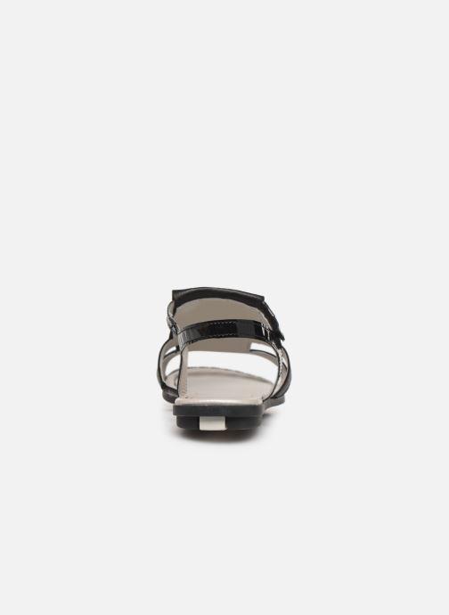 Sandales et nu-pieds Pataugas Candy/V F2C Noir vue droite
