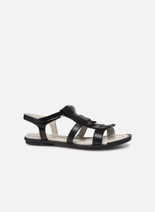 Sandales et nu-pieds Pataugas Candy/V F2C Noir vue derrière