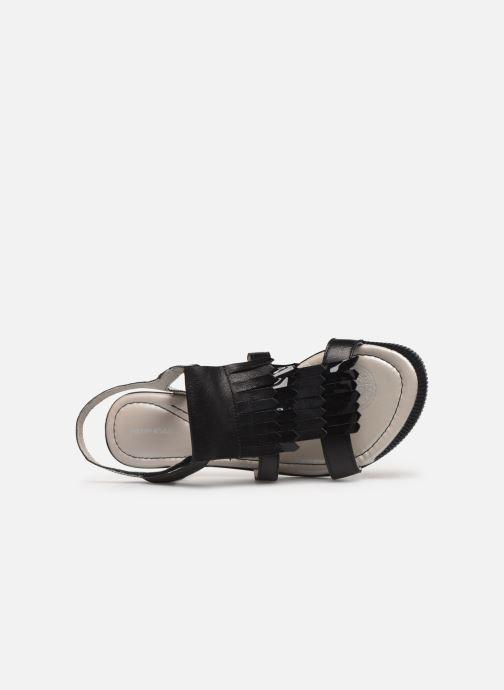 Sandales et nu-pieds Pataugas Candy/V F2C Noir vue gauche