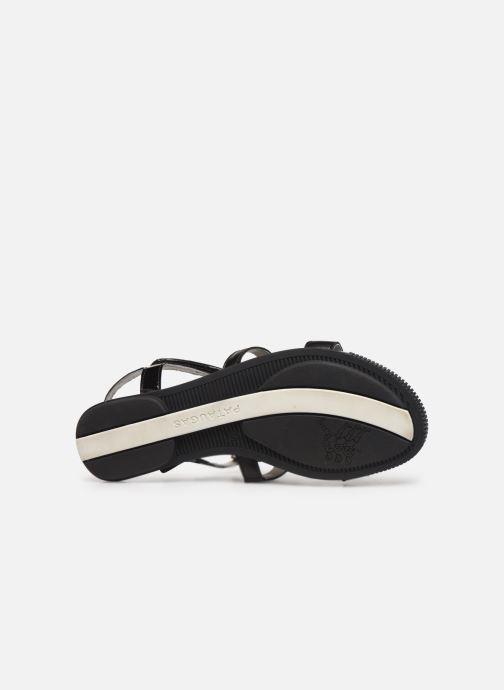 Sandales et nu-pieds Pataugas Candy/V F2C Noir vue haut