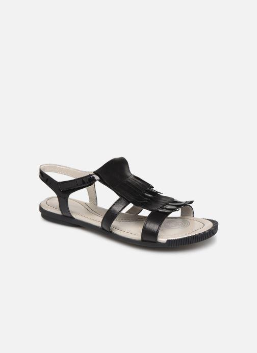 Sandales et nu-pieds Pataugas Candy/V F2C Noir vue détail/paire