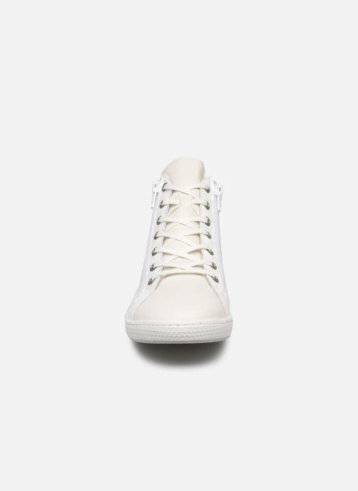 Baskets Pataugas Jane/Bb F2C Blanc vue portées chaussures