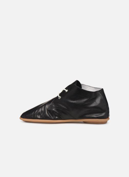 Zapatos con cordones Pataugas Scott/N F2C Negro vista de frente