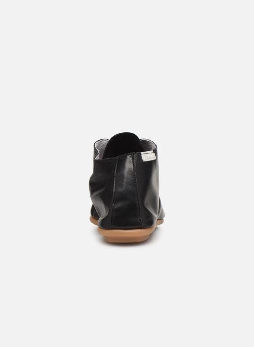 Zapatos con cordones Pataugas Scott/N F2C Negro vista lateral derecha