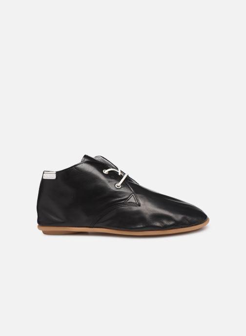 Zapatos con cordones Pataugas Scott/N F2C Negro vistra trasera