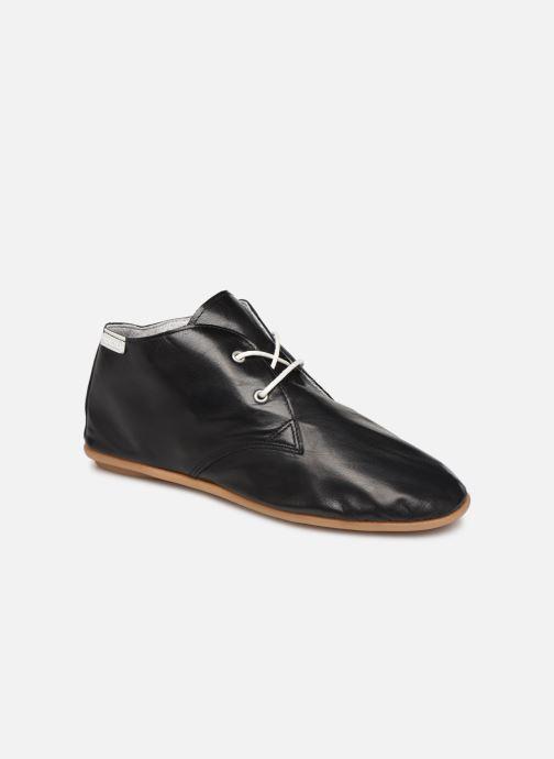 Zapatos con cordones Pataugas Scott/N F2C Negro vista de detalle / par
