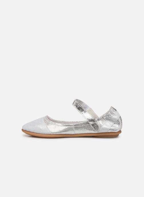 Ballerinas Pataugas Swan/M F2C silber ansicht von vorne
