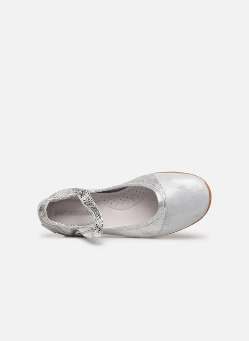 Ballerinas Pataugas Swan/M F2C silber ansicht von links