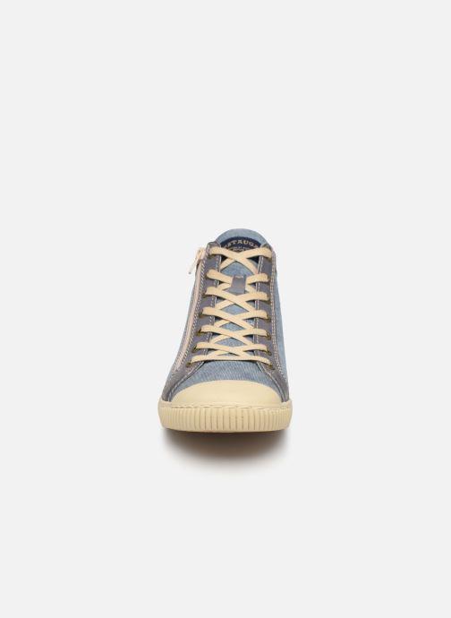 Baskets Pataugas Bumper/T H2C Bleu vue portées chaussures