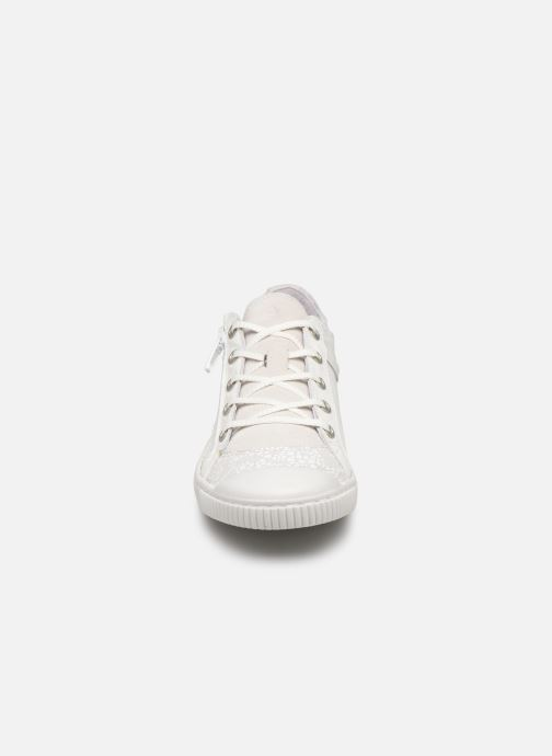 Baskets Pataugas Bisk/Po J2C Blanc vue portées chaussures
