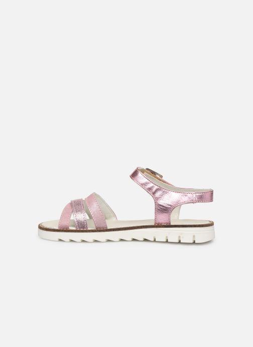 Sandales et nu-pieds Pataugas Edith/M J2C Rose vue face