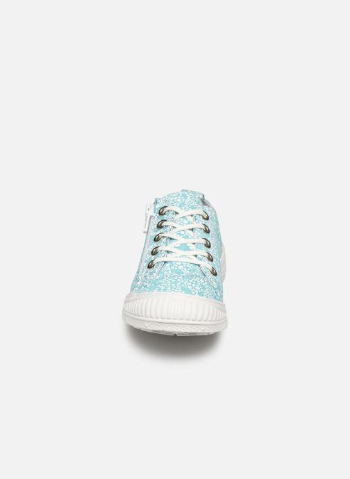Baskets Pataugas Rocky/Po J2C Bleu vue portées chaussures