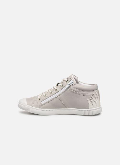 Sneaker Pataugas Bluff J2C grau ansicht von vorne