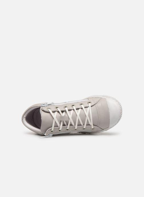 Sneaker Pataugas Bluff J2C grau ansicht von links