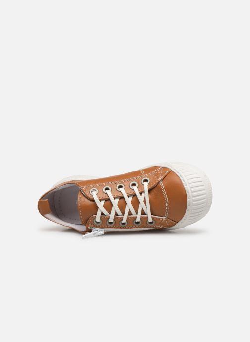 Sneakers Pataugas Rocky/N J2C Marrone immagine sinistra