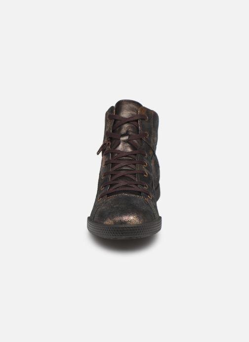 Baskets Pataugas Paz/Ca F4C Or et bronze vue portées chaussures