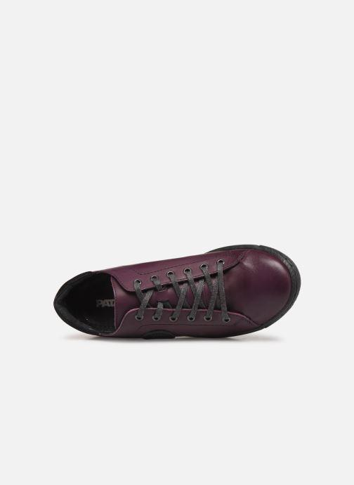 Sneakers Pataugas Jayo F4C Viola immagine sinistra