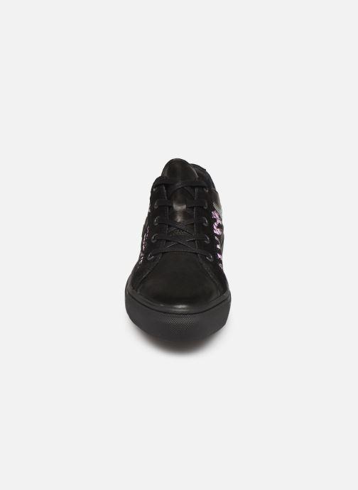 Baskets Pataugas York/Z F4C Violet vue portées chaussures