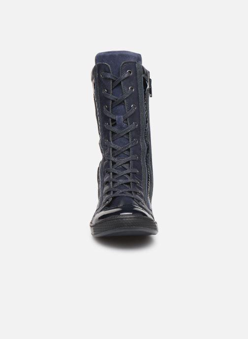 Baskets Pataugas Jovia F4C Bleu vue portées chaussures