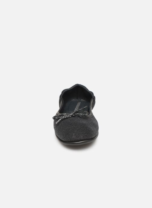 Ballerines Pataugas Sanok F4C Noir vue portées chaussures