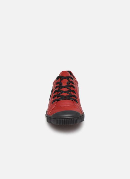 Baskets Pataugas Bohem/N F4C Rouge vue portées chaussures