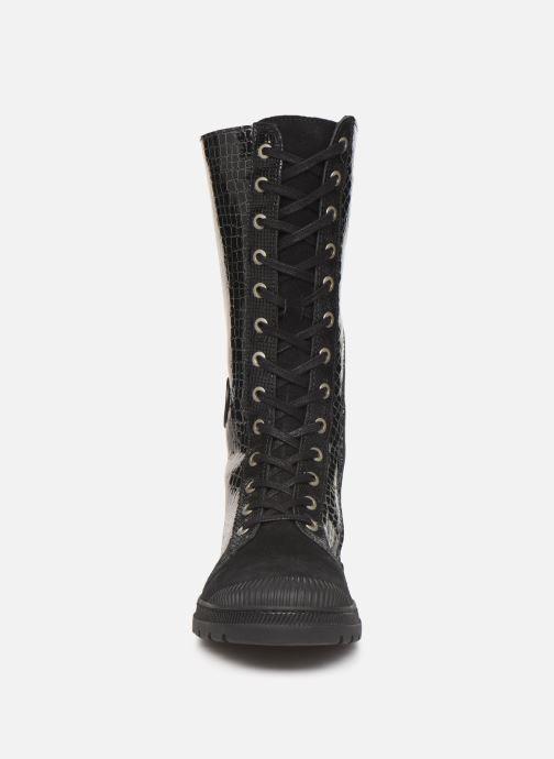 Bottes Pataugas Aloa/C F4C Noir vue portées chaussures