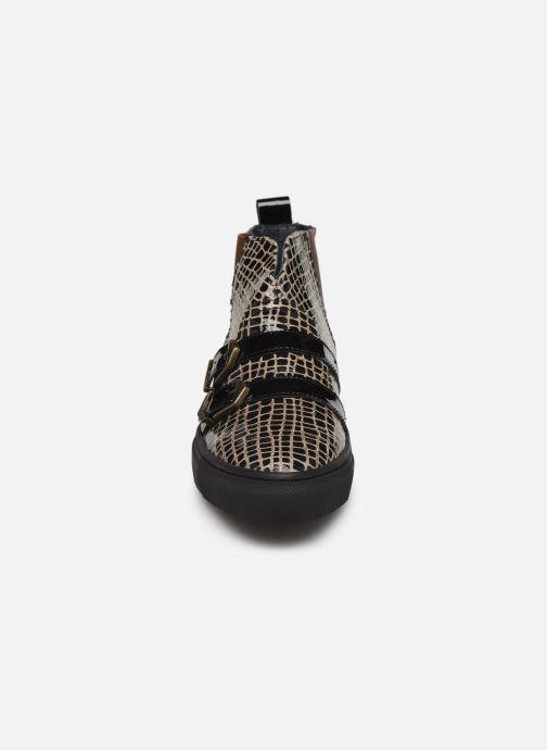 Bottines et boots Pataugas Yard/C F4C Marron vue portées chaussures