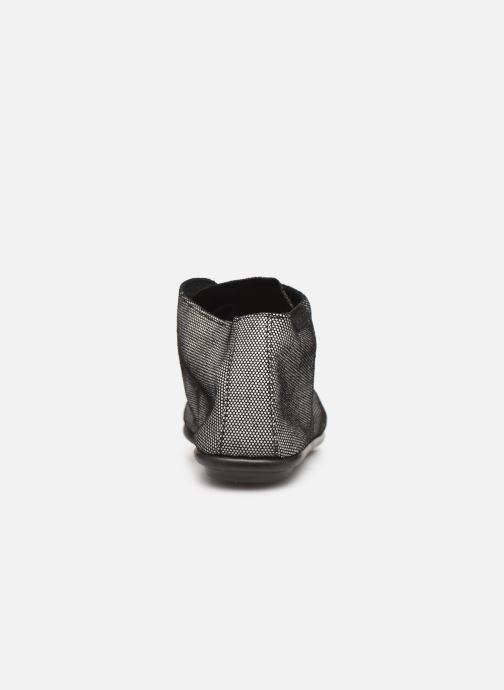 Zapatos con cordones Pataugas Scott F4C Gris vista lateral derecha