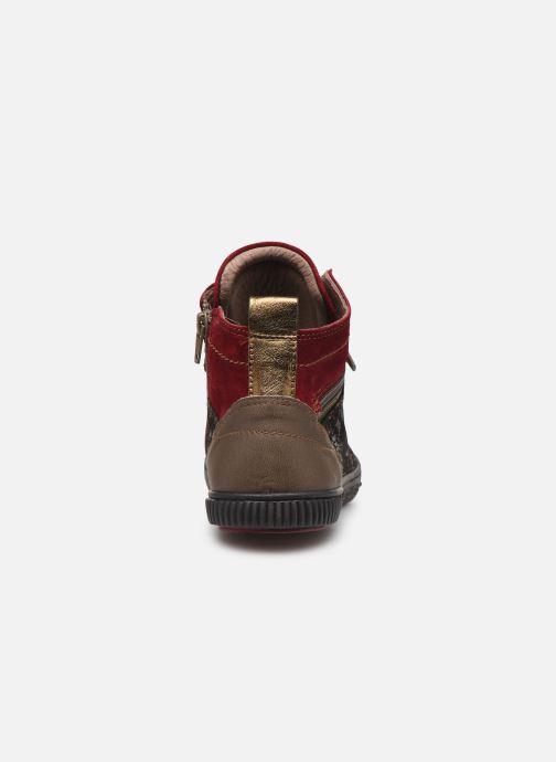 Sneakers Pataugas Banjou/Fe F4C Rosso immagine destra