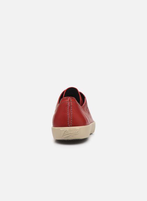 Sneakers Pataugas Cage/W H4C Röd Bild från höger sidan