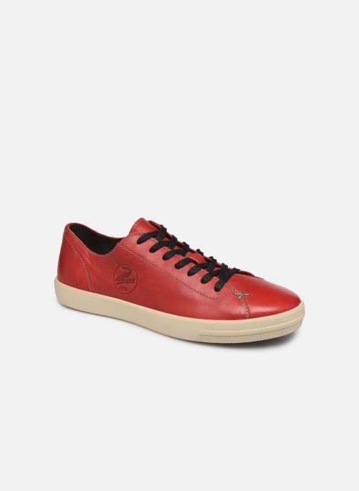 Sneakers Pataugas Cage/W H4C Röd detaljerad bild på paret