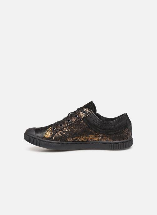 Sneakers Pataugas Bisk J4C Guld og bronze se forfra