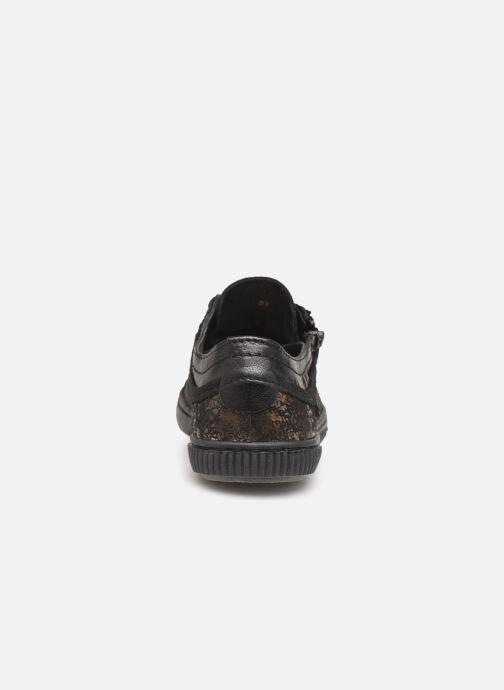 Sneakers Pataugas Bisk J4C Guld og bronze Se fra højre