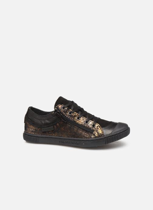 Sneaker Pataugas Bisk J4C gold/bronze ansicht von hinten